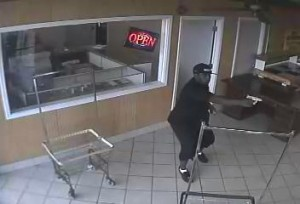 Aggravated Robbery Suspect From the Wash House