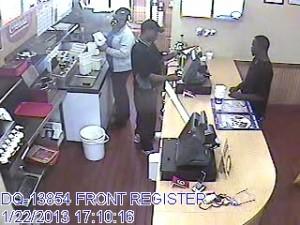 Man with Stolen Credit Card, Possible Auto Burglar