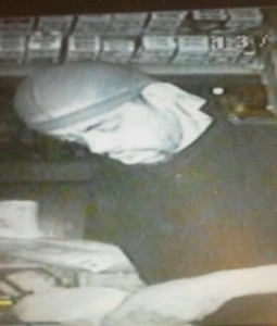 Burglar at Mike`s Grocery