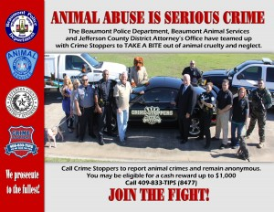 Crime Stoppers joins forces to combat animal abuse and neglect