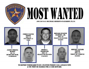Hardin County Most Wanted 7-11-16