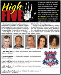 High Five – Examiner 7-07-16