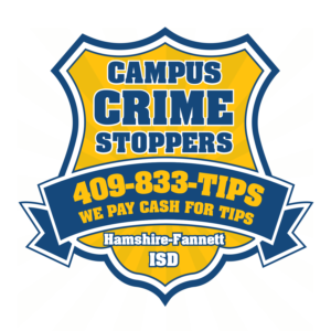 Hamshire-Fannette ISD - Campus Crime Stoppers
