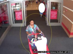 Woman Using Stolen Credit Card